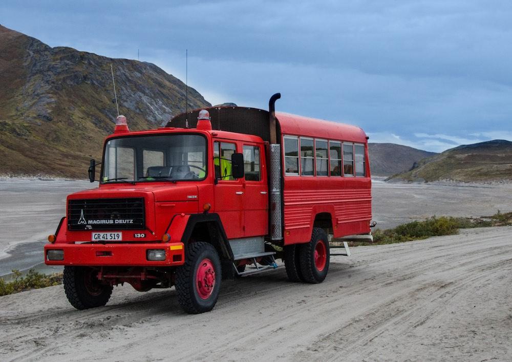 Inlandsisen - firetruck (7147-2 Bjorn)