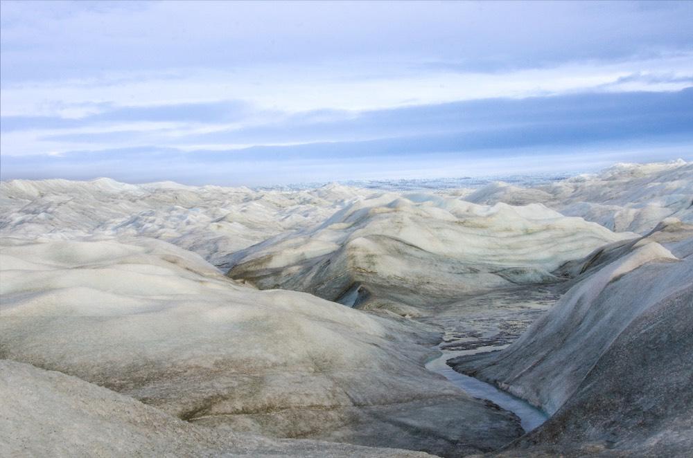Inlandsisen - frozen stormy sea 3 (7363 Bjorn)