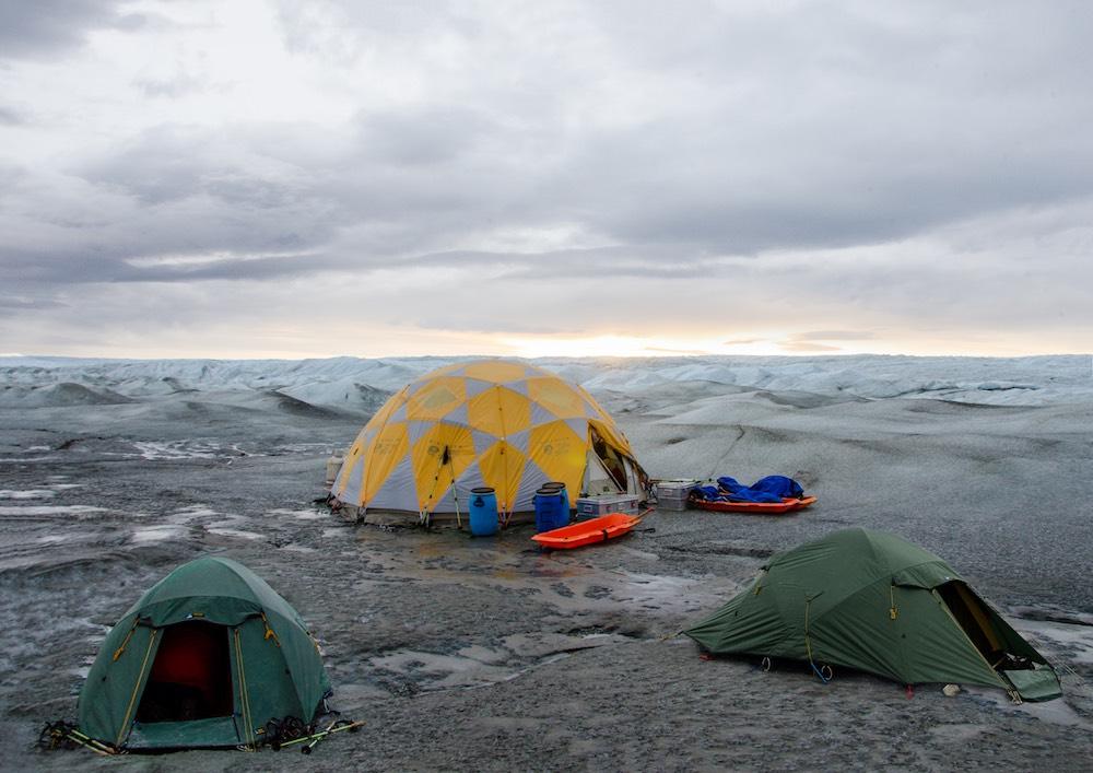 Inlandsisen - tents (7410 Bjorn)