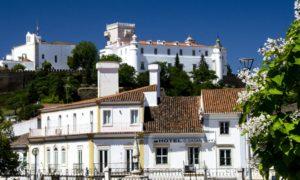 Portugal Alentejo - Town w castle (16E0913)