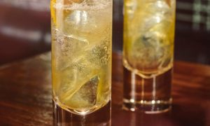 bulleit lemon tonic