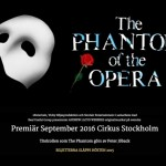 THE PHANTOM OF THE OPERA TILL STOCKHOLM