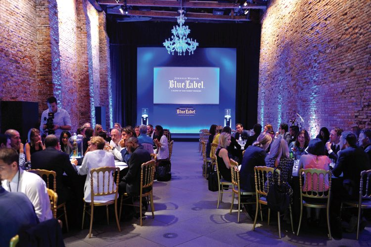 Johnnie Walker Blue Label & Jude Law Press Screening & Conference For 'The Gentleman's Wager'