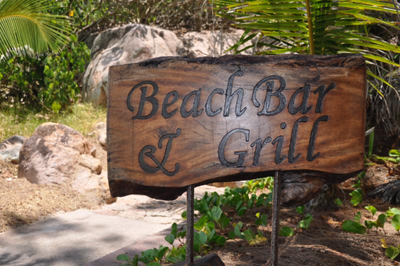 Beach bar och Grill på Lemuria Praslin-1