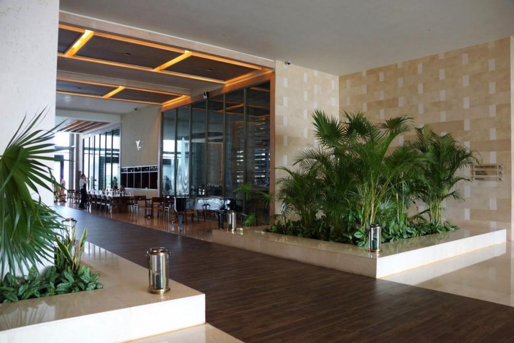 DSC08196 - T - lush vegetation in the main lobby