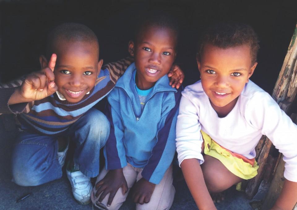 Flytten till Afrika - township children (IMG_2035A)