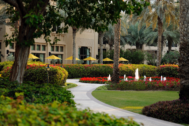 Gardens of One&Only Royal Mirage1