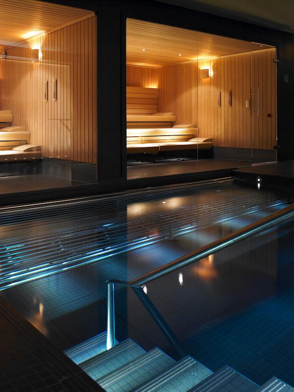 Gleneagles - Spa saunas & pool