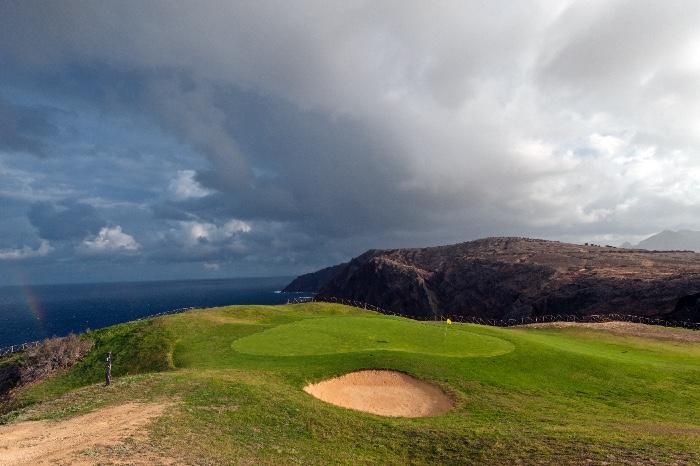 Golf med spektakulär utsikt
