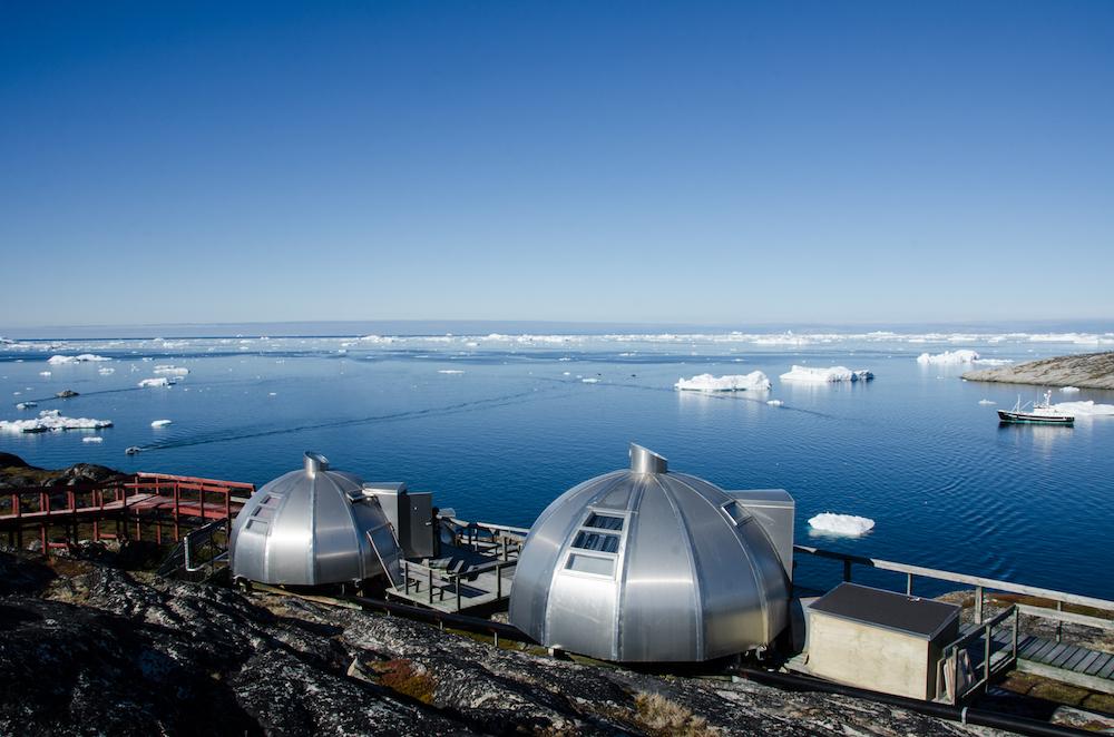 Grönlandskryssning - hotel arctic igloos (6280 Bjorn)