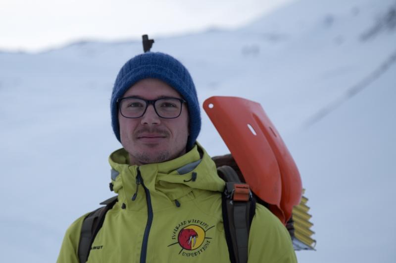 Tim är från Australien. Han var en av våra guider. Foto: Thomas Bujack