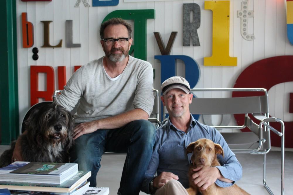 Från vänster: Bruno, Marcel, Johan och Curro.