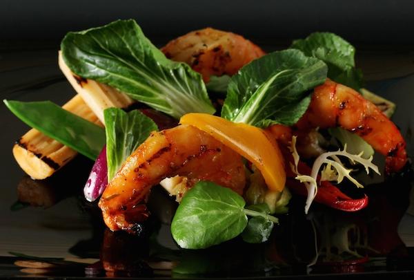 Indonesian prawn salad 2