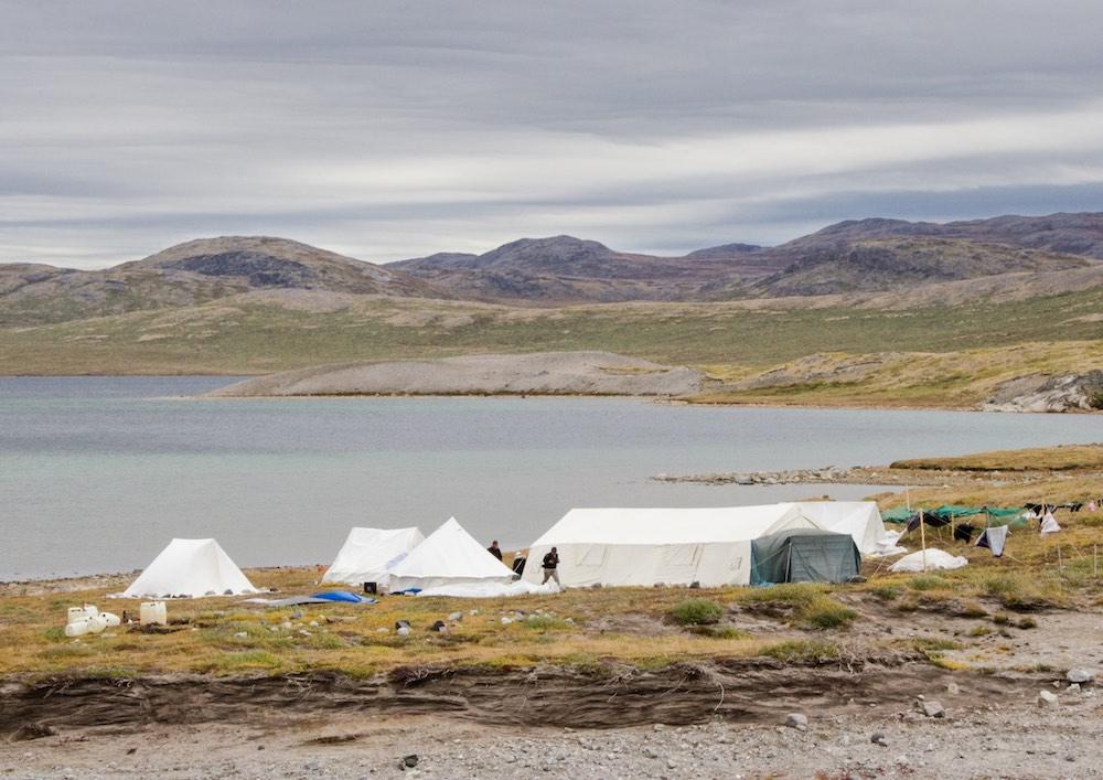 Inlandsisen - inuit hunting camp (7021 Bjorn)