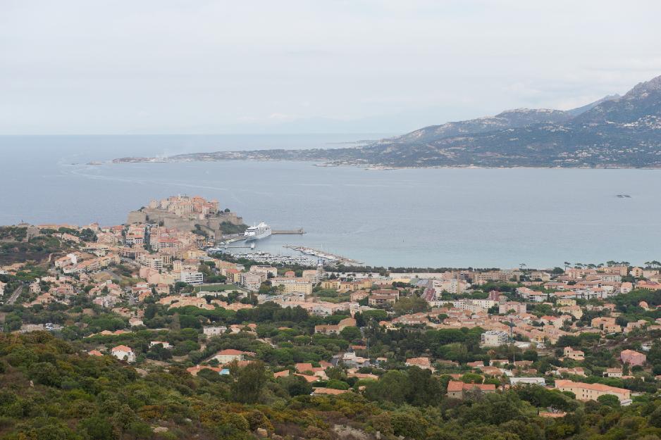 Korsika - utsikt
