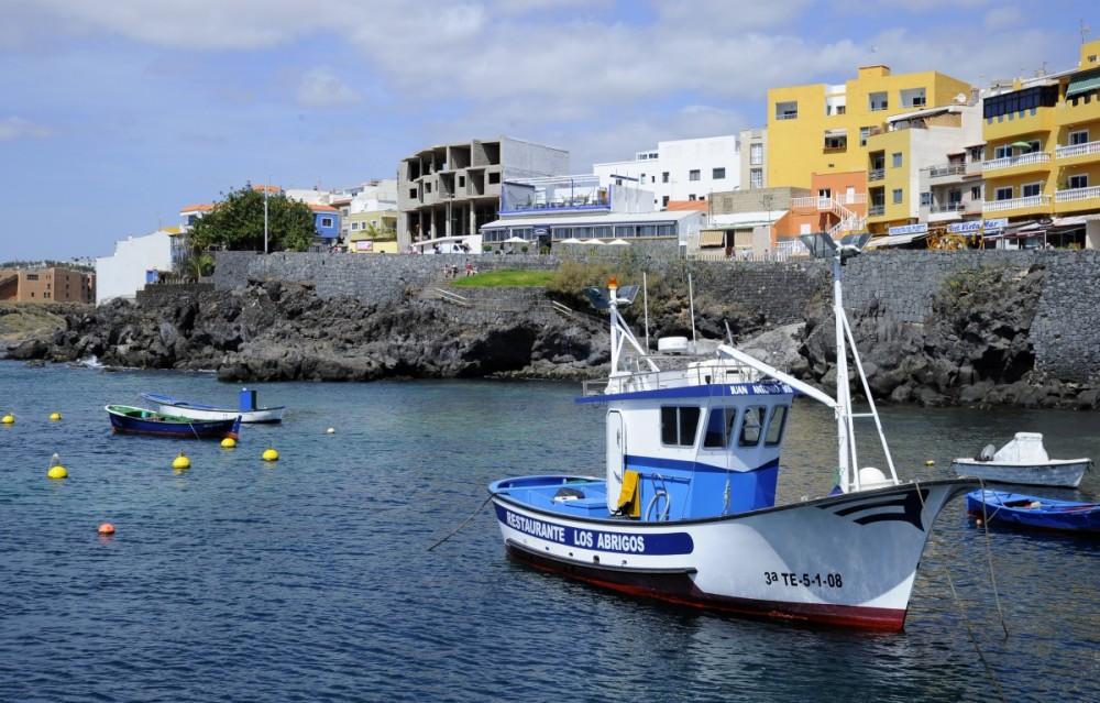 Los Abrigos från hamnen