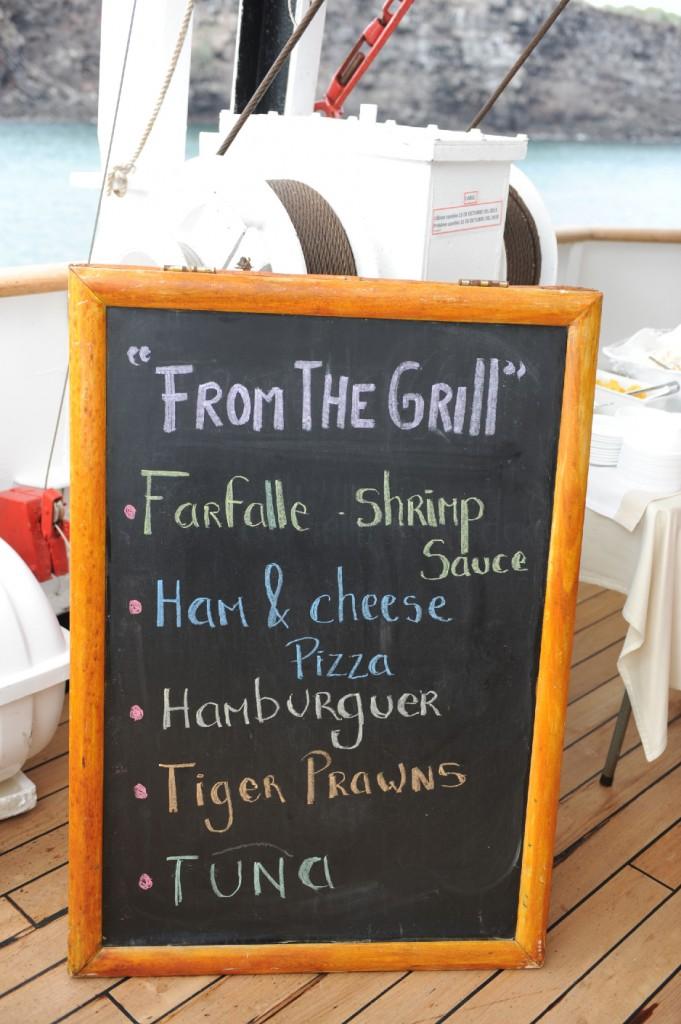 Meny The Grill