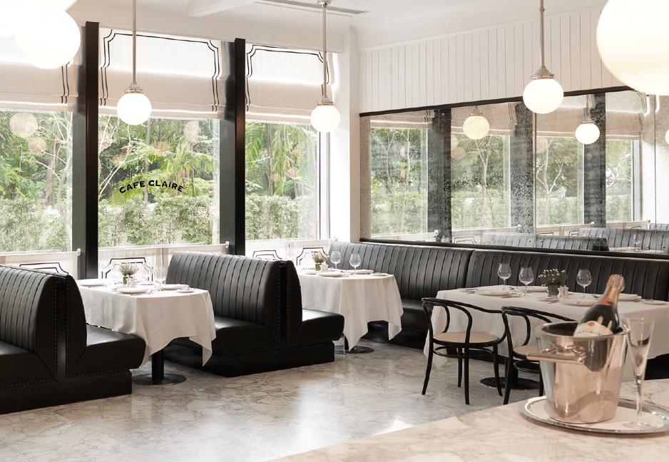 Oriental Residence Bangkok Cafe Claire
