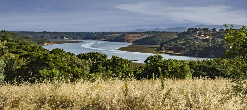 Portugal Alentejo - view w river (16E0214)