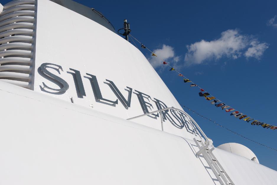 Silversea skorsten