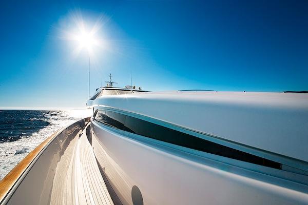 Starboard exterior passageway