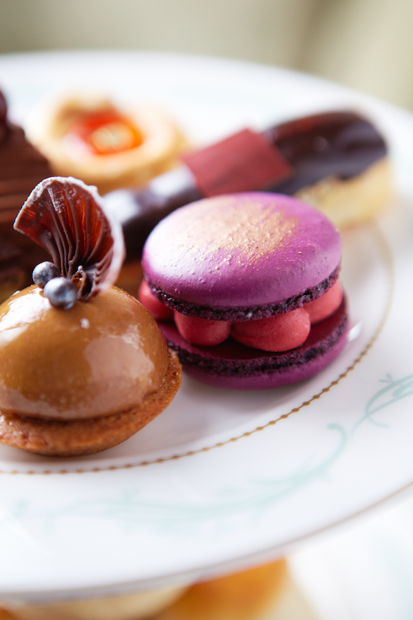 The Savoy Afternoon Tea pastries close-up
