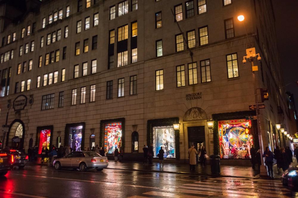 Julskyltning på Bergdorf Goodman. Foto: Julienne Schaer