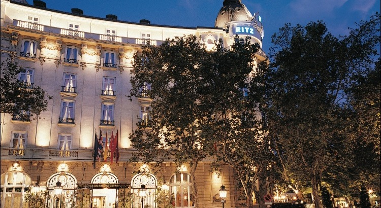 the ritz hotel madrid